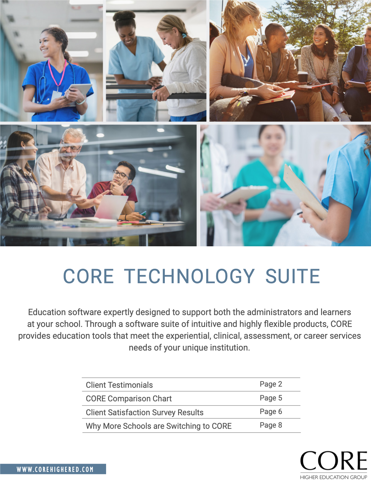 CORE Multi-Program Info Booklet