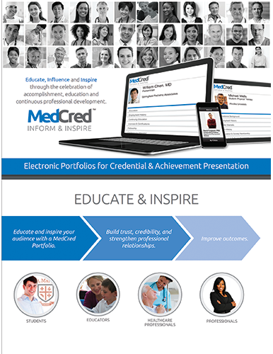 MyCred ePortfolio Features Sheet